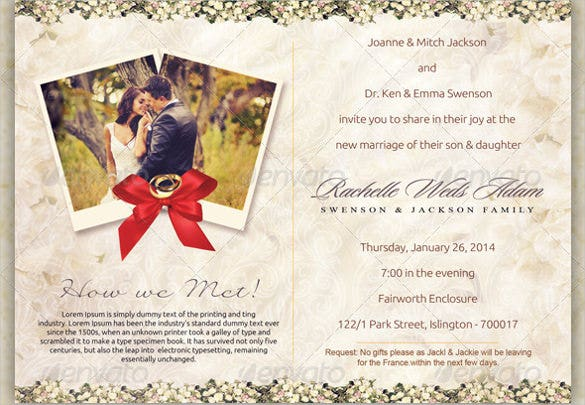 Wedding Postcard Template – 21+ Free Psd, Vector Eps, Ai, Format