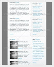 Email-Newsletter-PSD
