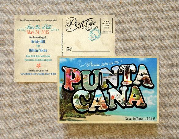 creative vintage large letter postcard