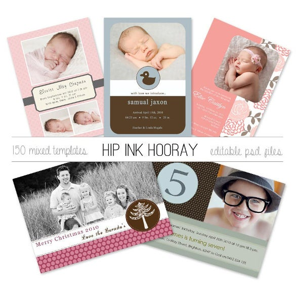 birth announcements invitations kids birthday