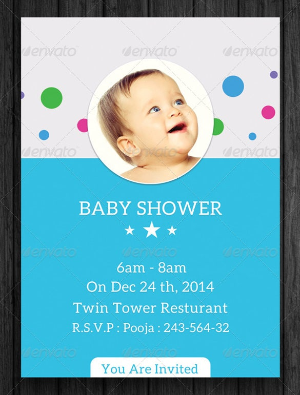 Baby Shower Invitation Templates For Kids