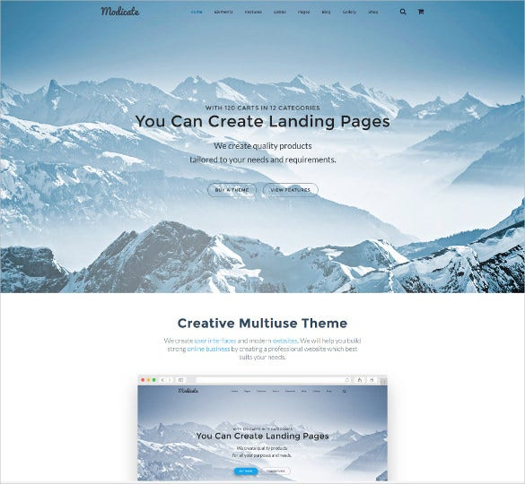 corporate multipurpose website template