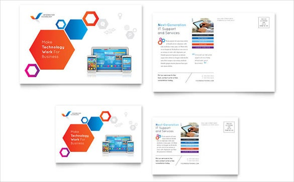 12+ Free Postcard Templates – Free Sample, Example Format Download ...