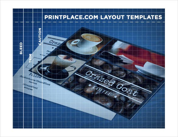 layouts postcard for free download