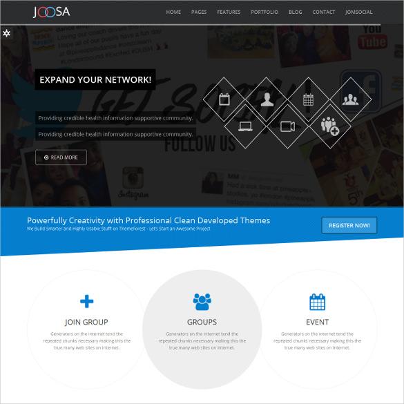 responsive ultimate directory listing joomla theme