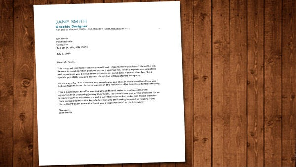 general cover letter template1