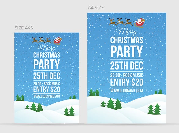 37 Christmas Invitation Templates Psd Ai Word Free