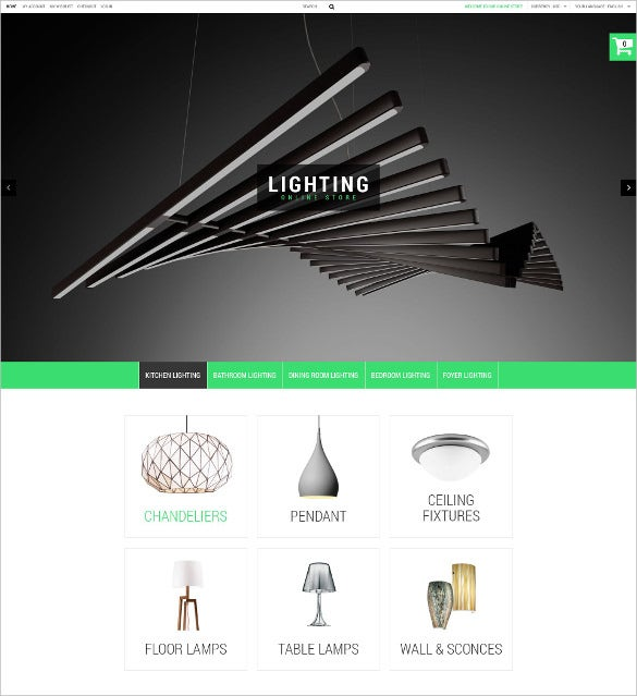corporate house magento template