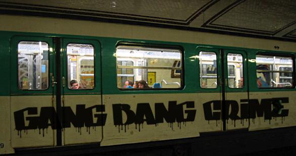 Gang Graffiti Font