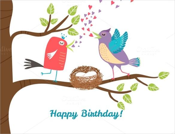 animated birthday postcard