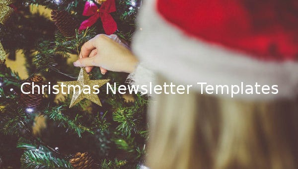 christmas newsletter templates1