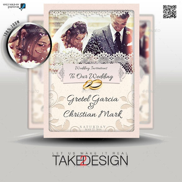20 second marriage wedding invitation templates free sample