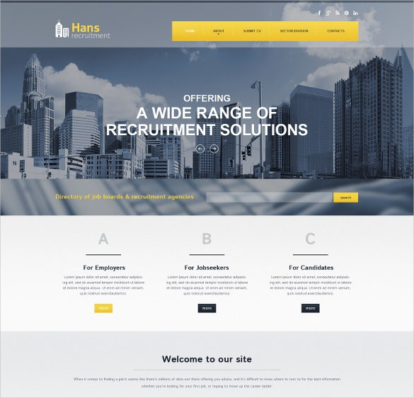 public relations directory listing website html5 theme