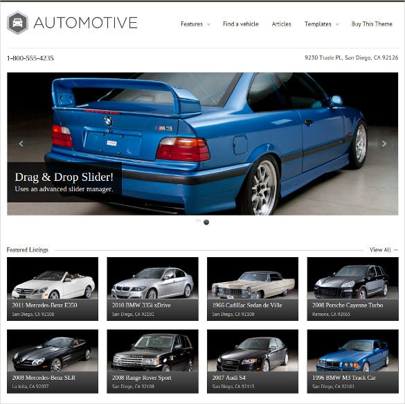 16 directory listing html5 themes templates free. Black Bedroom Furniture Sets. Home Design Ideas