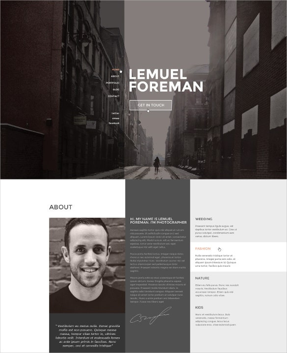 one page multi purpose directory listing html5 template