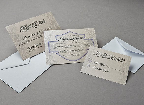 custom wedding party invitation template download