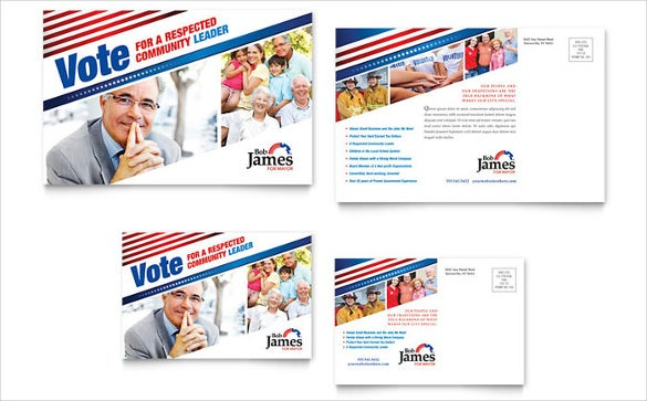 6x4 postcard template - political postcard template 12 free psd vector eps ai