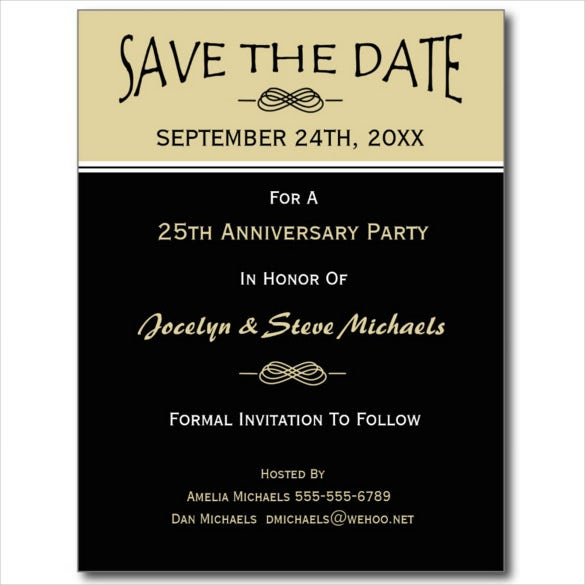 reunion party event postcard template