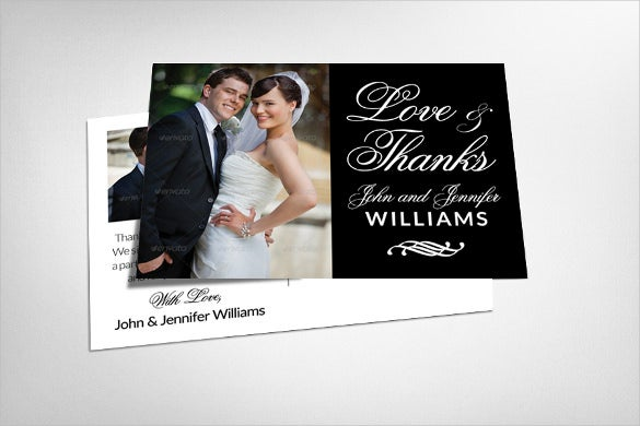wedding invitation event postcard template
