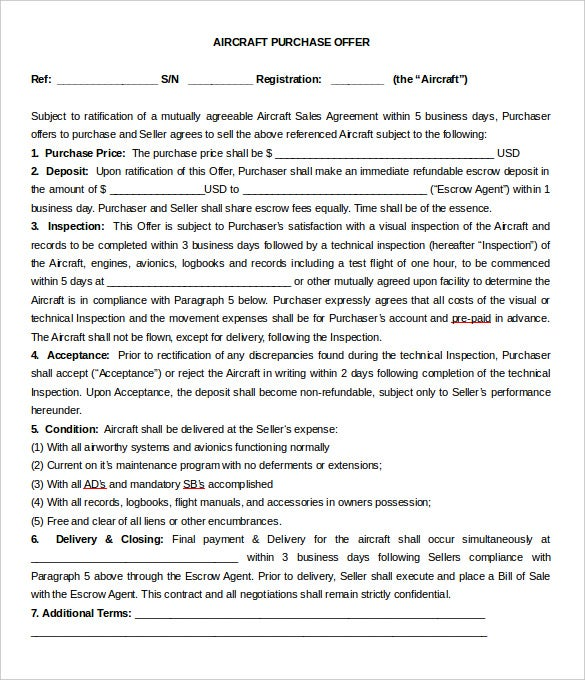 intent to purchase agreement template  13  Purchase Letter Of Intent Templates - DOC, PDF | Free
