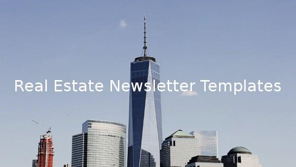real estate newsletter templates1