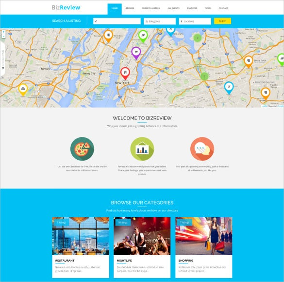 directory listing drupal php theme