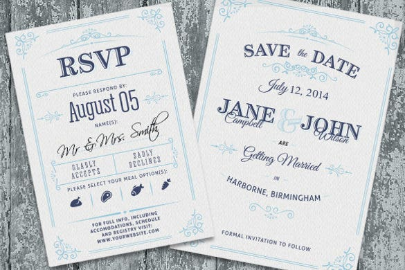 Unique Simple Wedding Invitation Wording Template