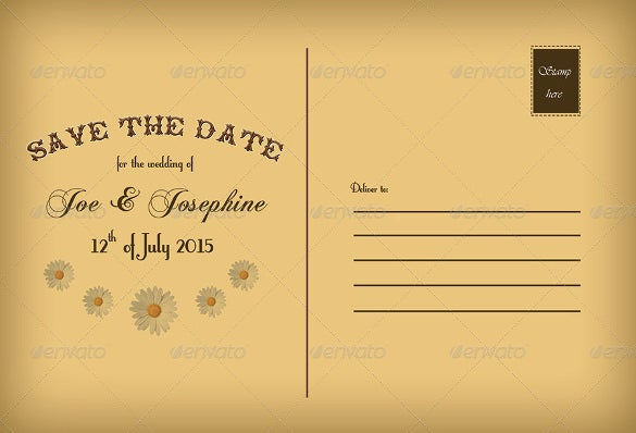 22+ Save The Date Postcard Templates