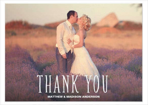 cute thank you white overlay paper invitation post card