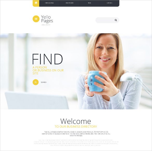 business directory listing website theme