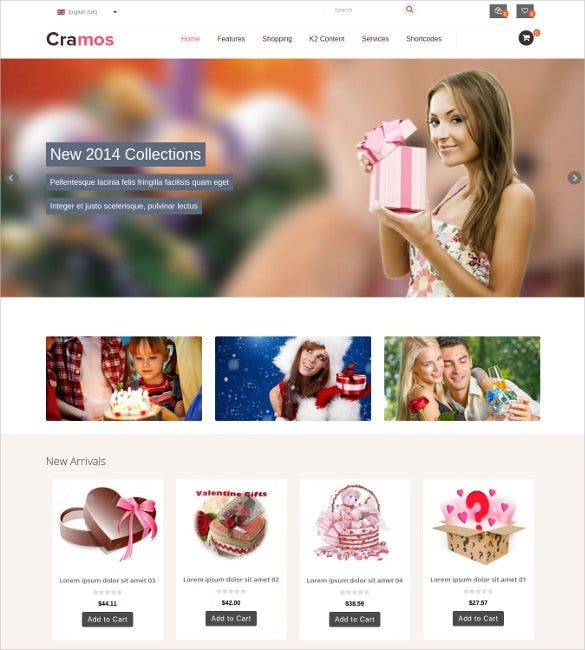 ecommerce admin panel php joomla template1