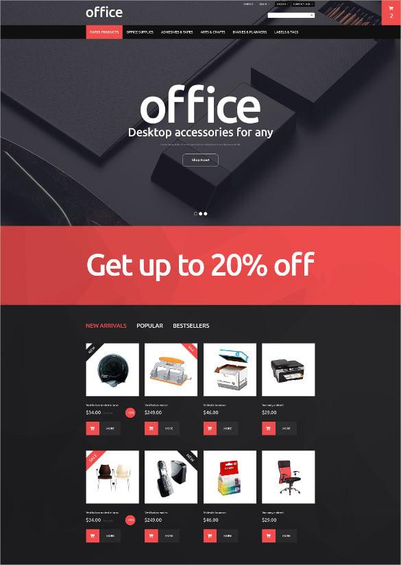 corporate office prestashop theme