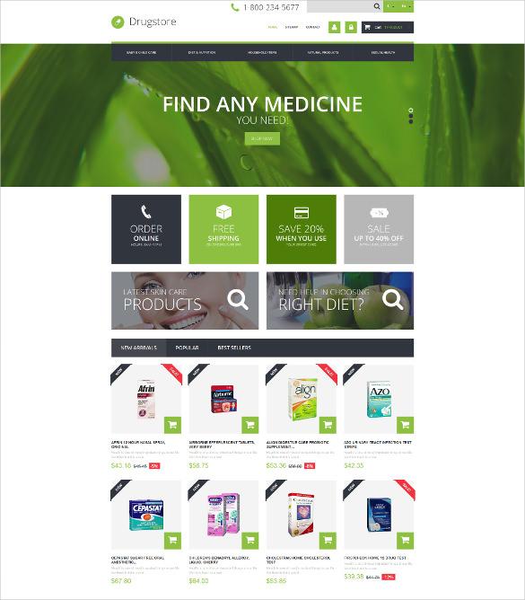 corporate medical business prestashop theme