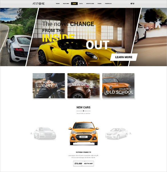 multipurpose ecommerce directory psd template