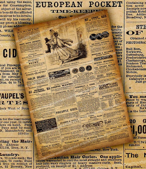 Old Newspaper Templates  Free Sample Example Format Download