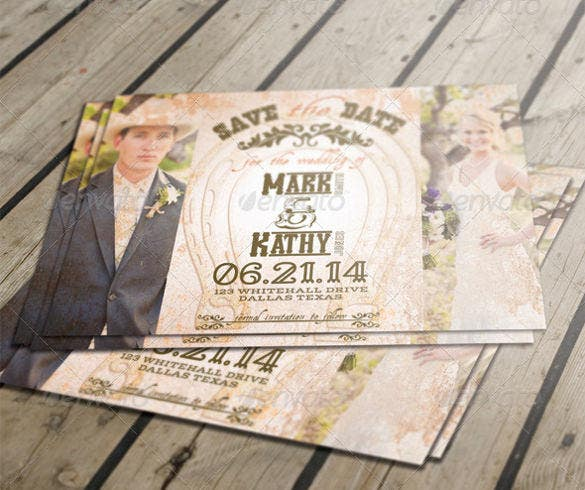 western style rustic wedding invitation - Free Rustic Wedding Invitation Templates