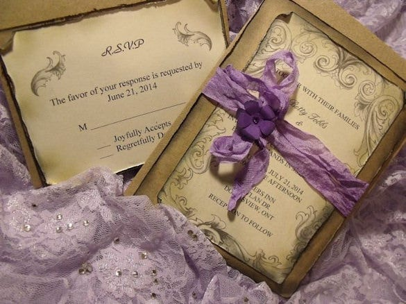 If Your Wedding Is A Little Private And Youu0027re Inviting Only The Very Inner  Circle Of Your Family And Friends, Make Your Wedding Invitation Very  Special ...