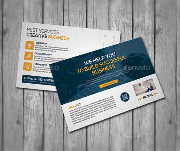 4x6 postcard template for corporates