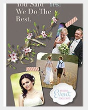 Wedding-Planner-Postcard-Template