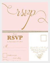 Printable-and-editable-4x6-wedding-postcard-in-gold
