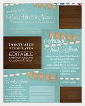 Blue-Colour-Postcard-Template-design