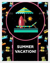 Modern-Flat-Design-Seaside-Postcard-Template