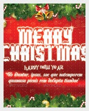 Christmas-5x7-Postcard-Template