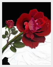 Rose-Postcard-Photoshop-template-