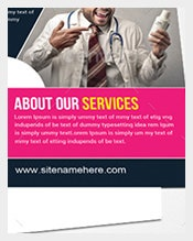 Pink-Colour-Business-Postcard-Template