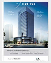 Downtown-Apartment-Postcard-Template