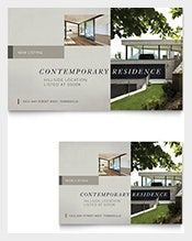 Postcard-Template-for-Contemporary-Residence-