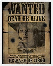 Old-Western-_Wanted_-Postcard-