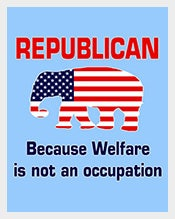 Funny-Republican-Political-Welfare-Postcard