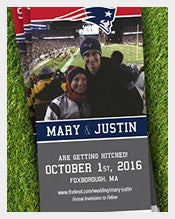Sports-Ticket-Save-The-Date-event-Postcard